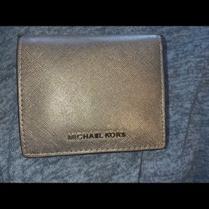 Michael Kors gold wallet